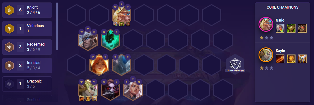 TFT Kayle Stall 2.0 Team Comp (Patch 11.16)