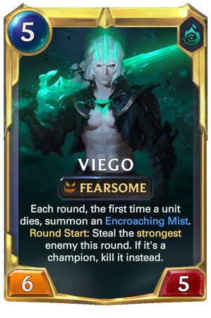 Viego level 2 (LoR Card)