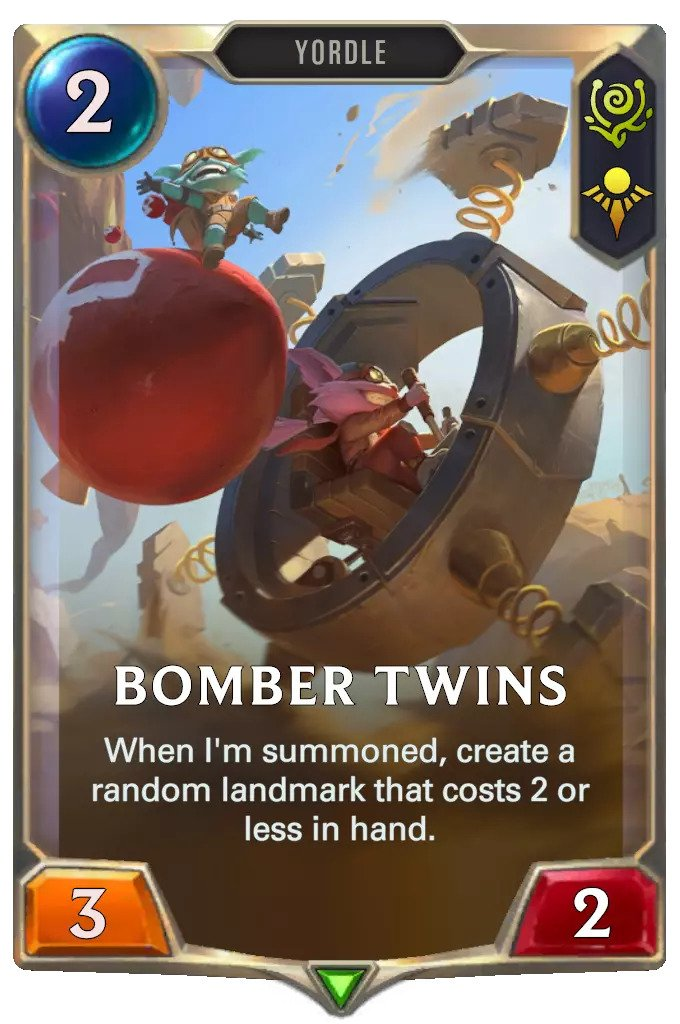 bomber twins (Lor card)