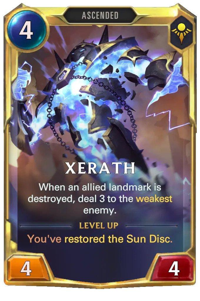 xerath level 2 (lor card)