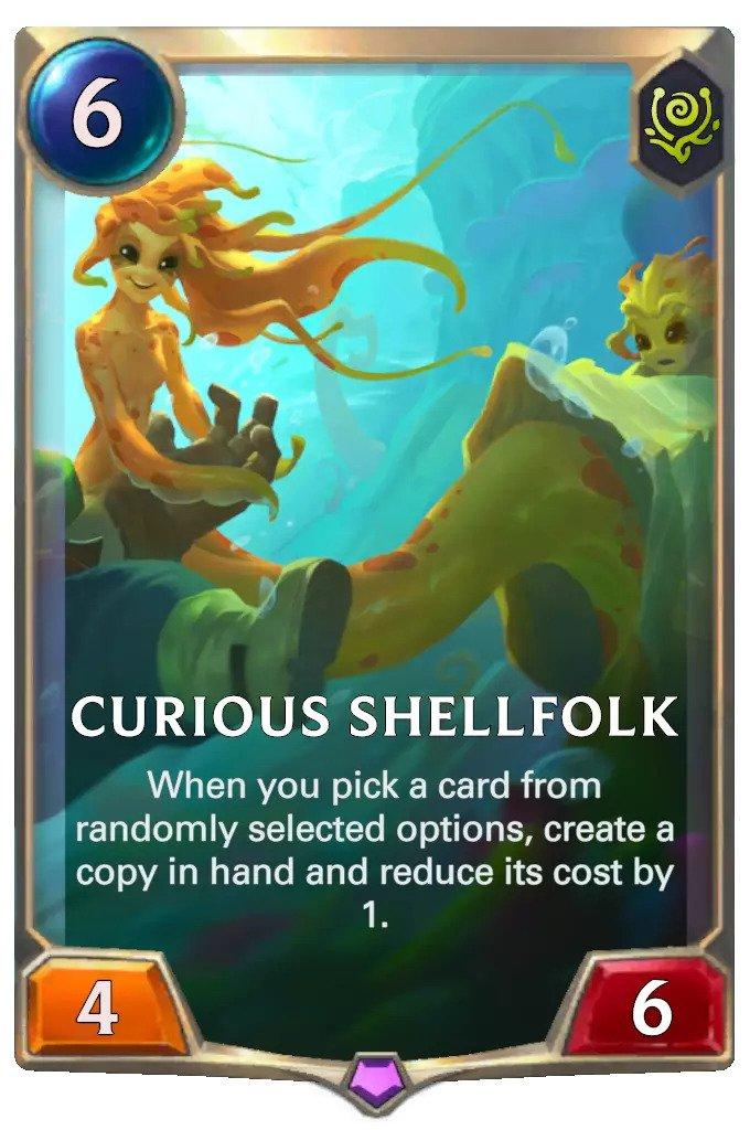 curious shellfolk (lor card)