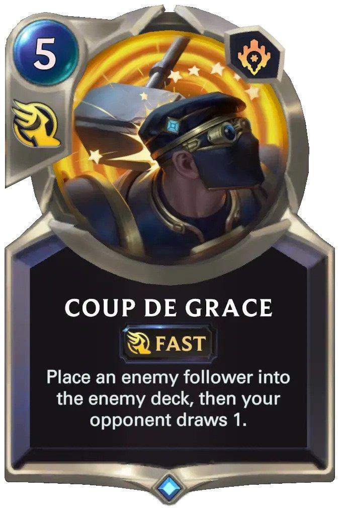 Coup De Grace (LoR card)