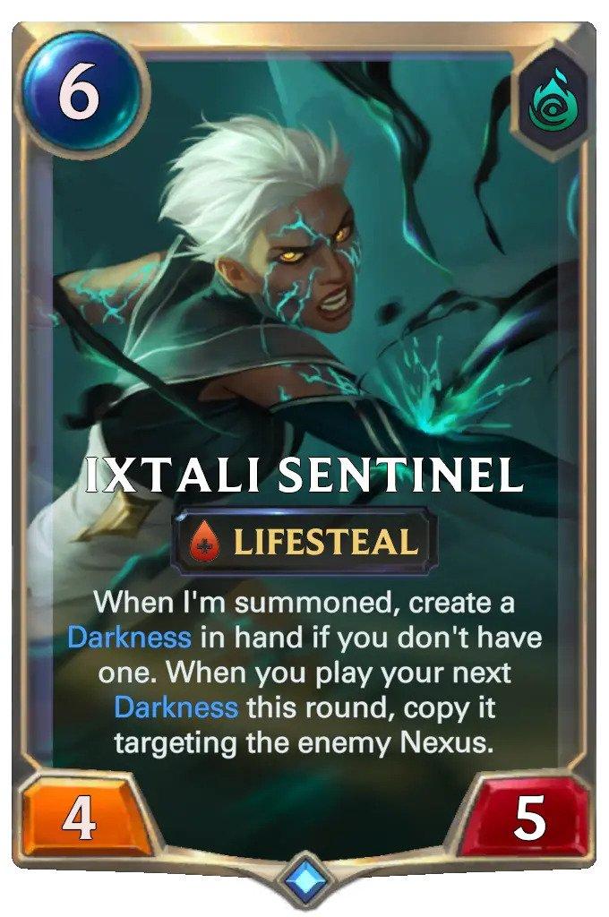 ixtali sentinel (lor card)