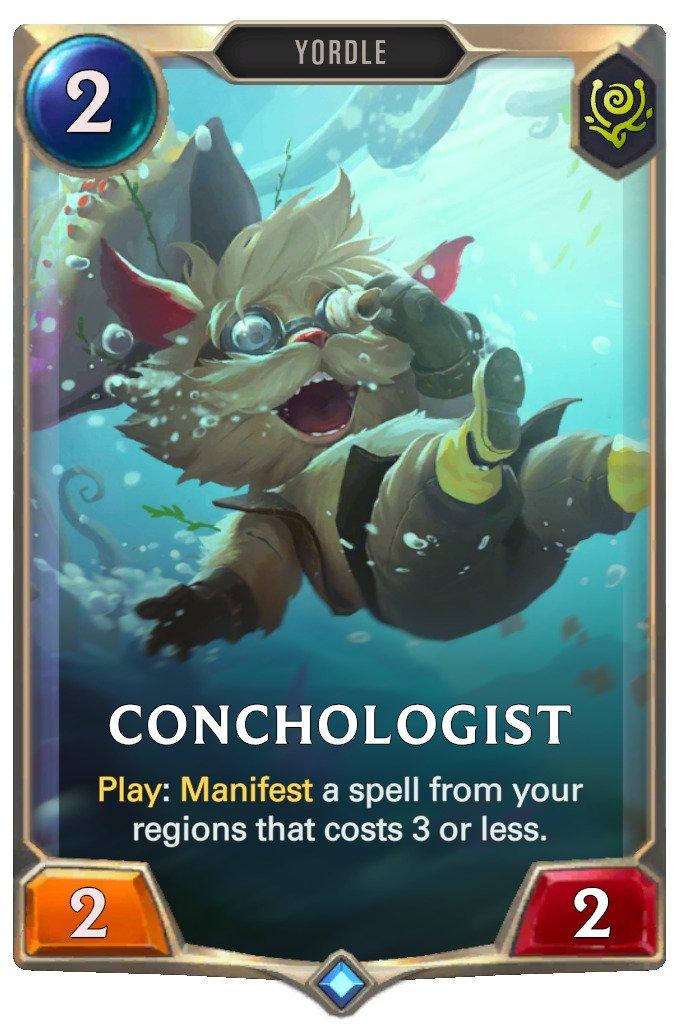 Conchologist (LoR card)