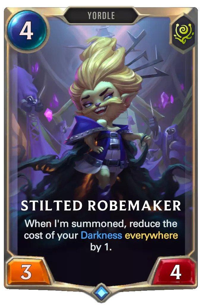 Stilted Robemaker (LoR card)