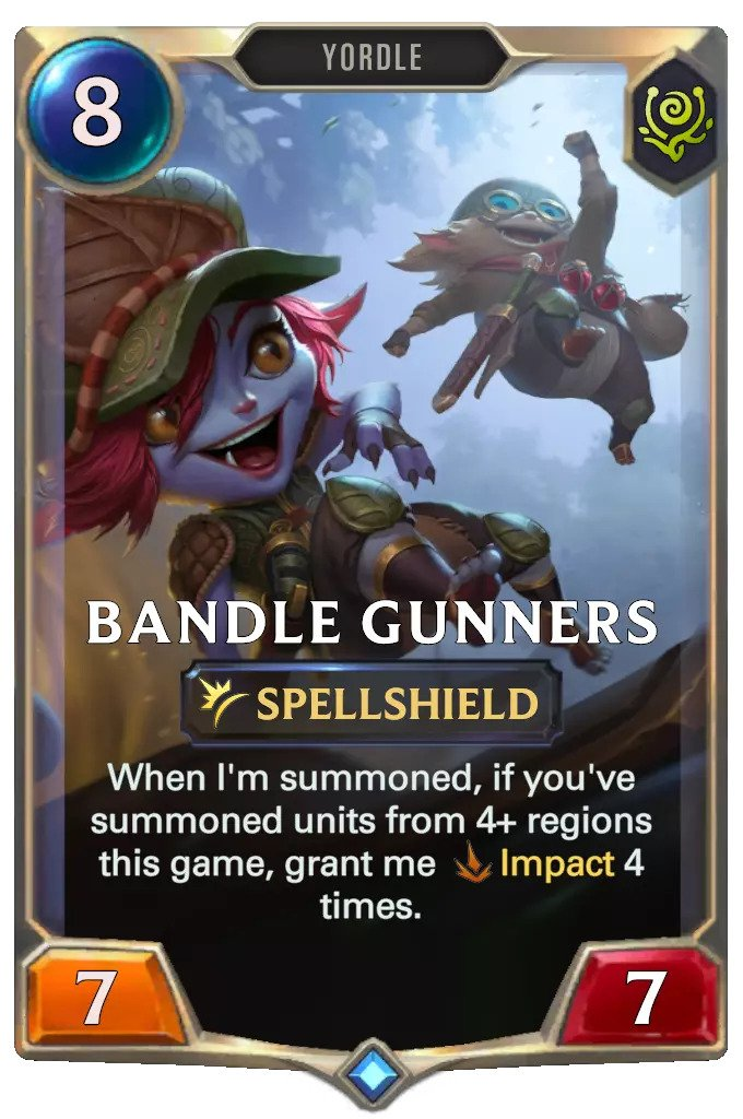 bandle gunners (lor card)
