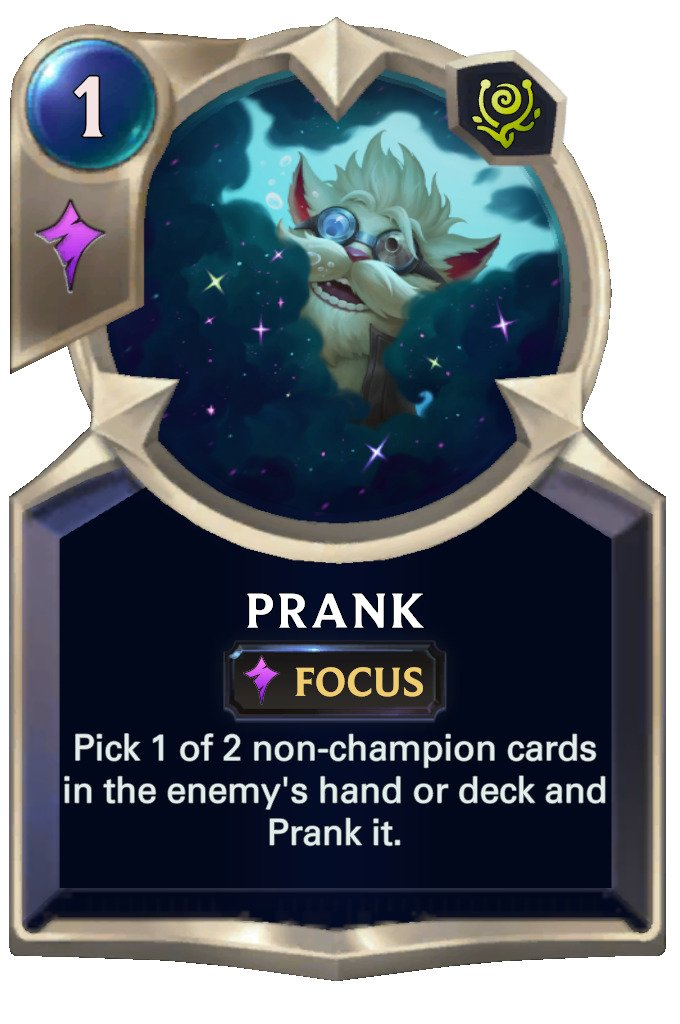 Prank (LoR card)