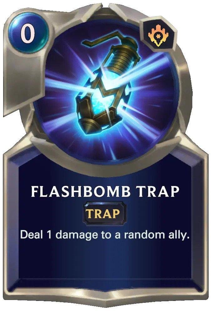 Flashbomb Trap (LoR card)