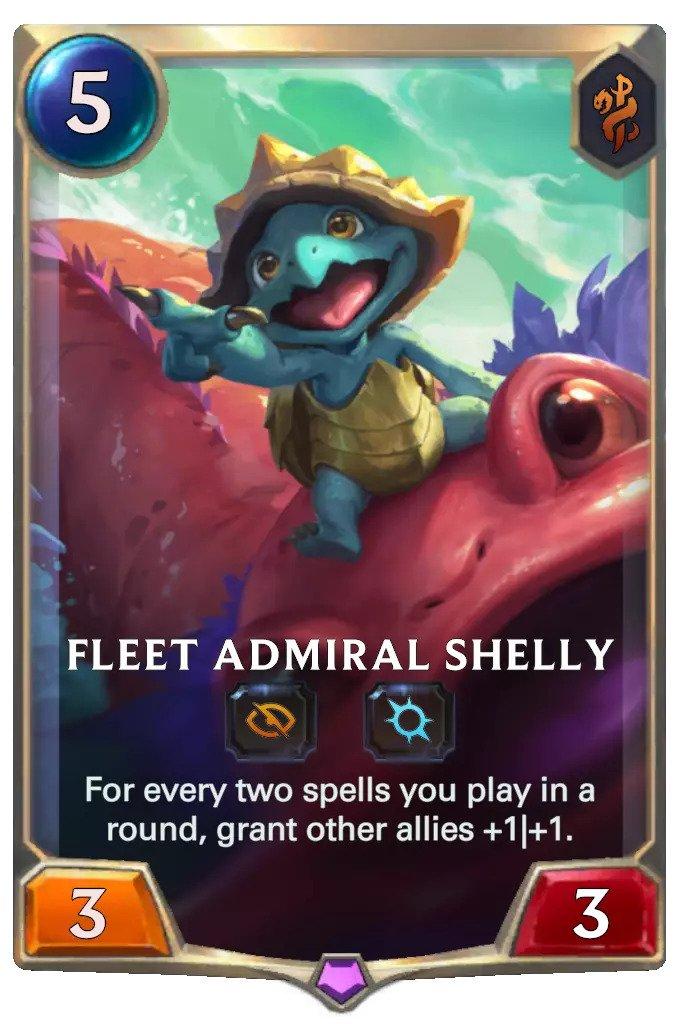 fleet admiral shelly (lor card)