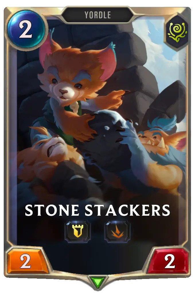 Stone Stackers (LoR card)