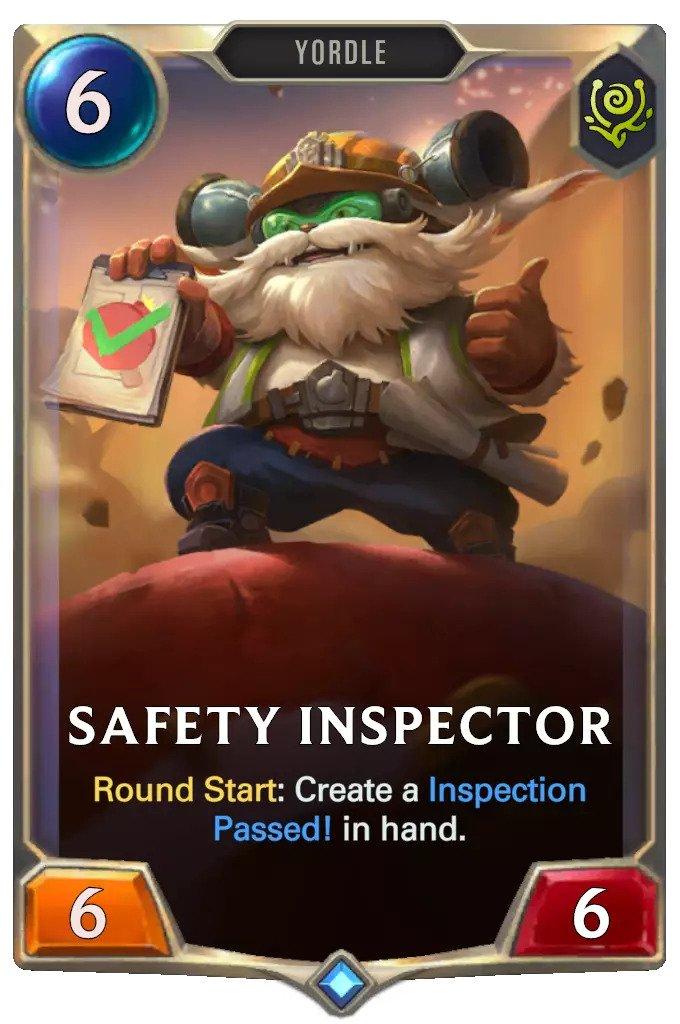 safety inspector (lor card)