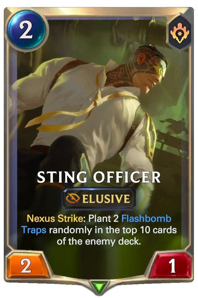 Sting Officer (LoR card)