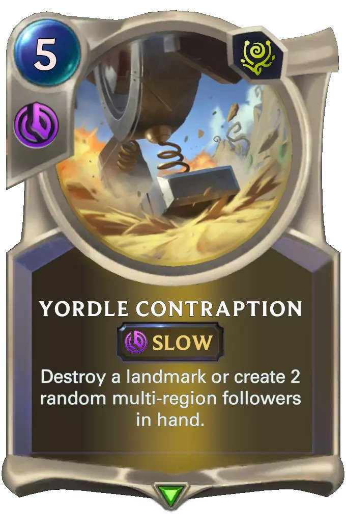 Yordle Contraption (LoR card)