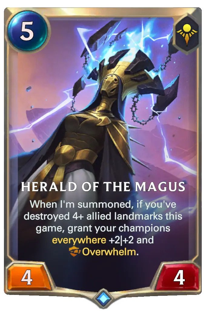 herald of the magus (lor card)