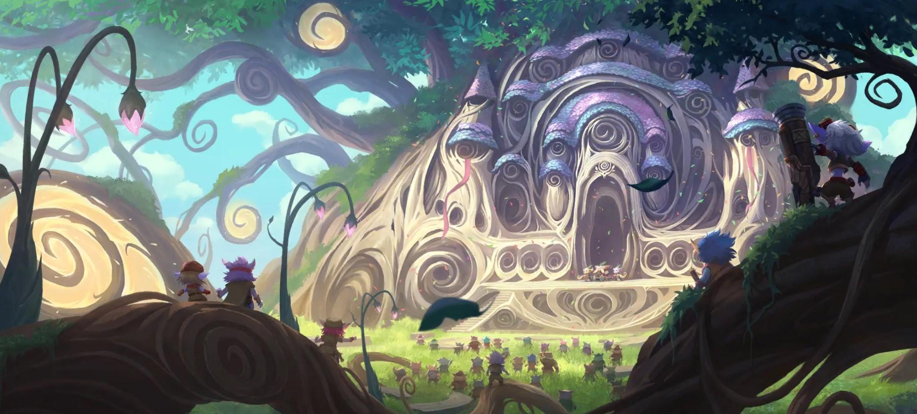 The Bandle Tree (LoR splash)