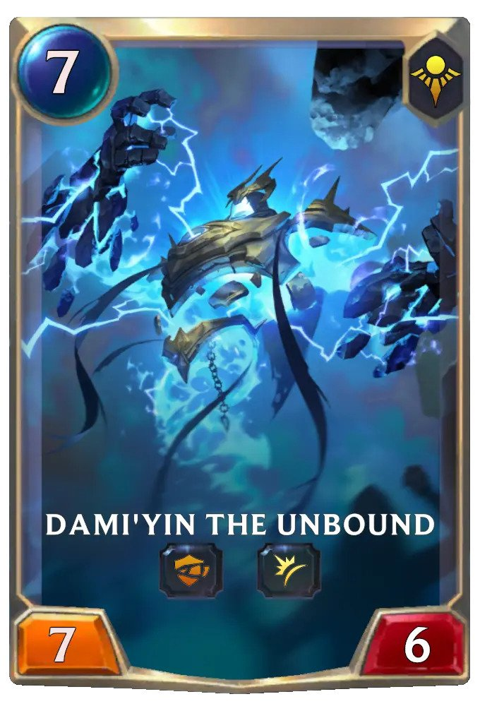dami'yin the unbound (lor card)