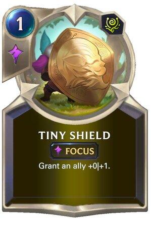 Tiny Shield (LoR Card)