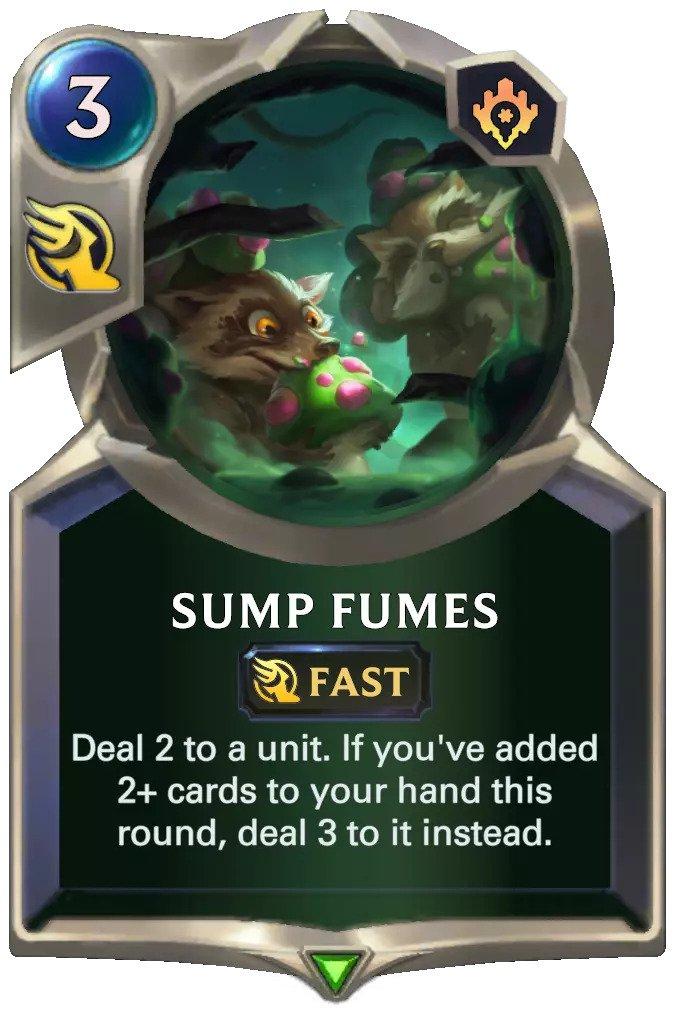 Sump Fumes (LoR card)