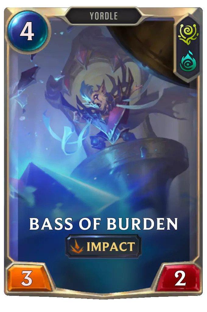 Bass of Burden (LoR card)