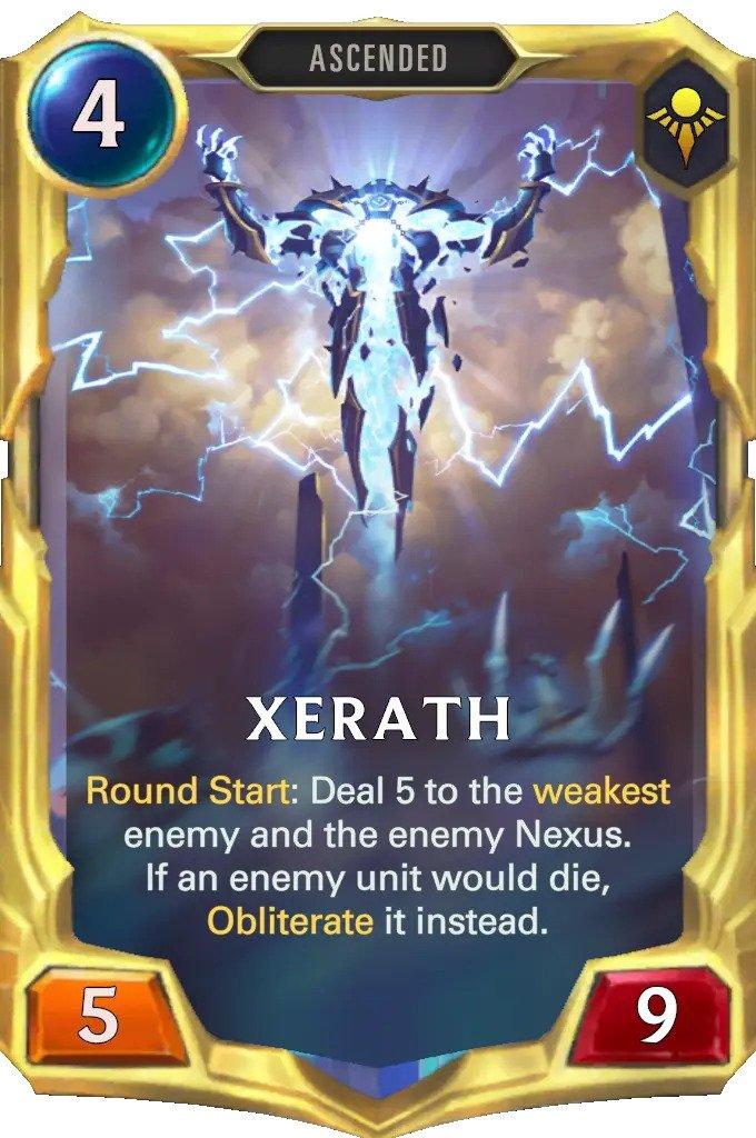 xerath level 3 (lor card)
