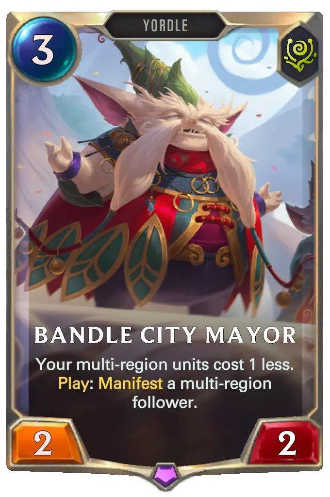 bandle city mayor (lor card)