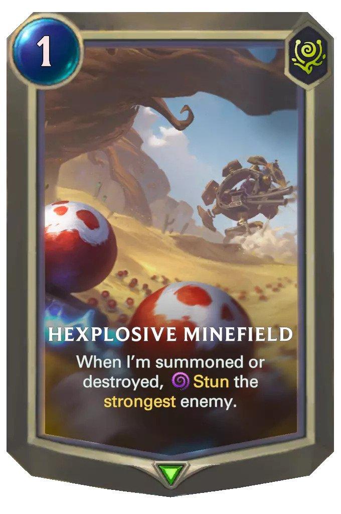 hexplosive minefield (lor card)