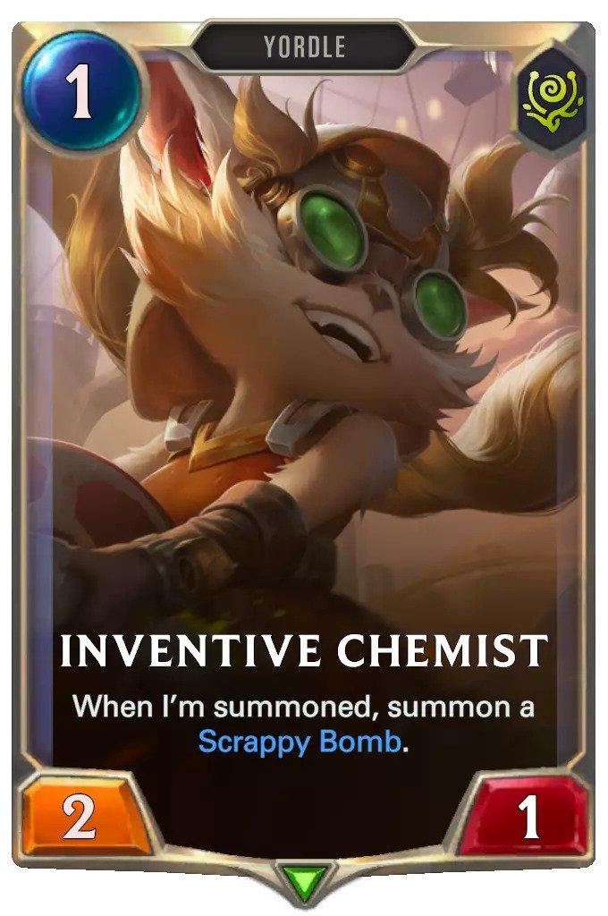 inventive chemist (lor card)