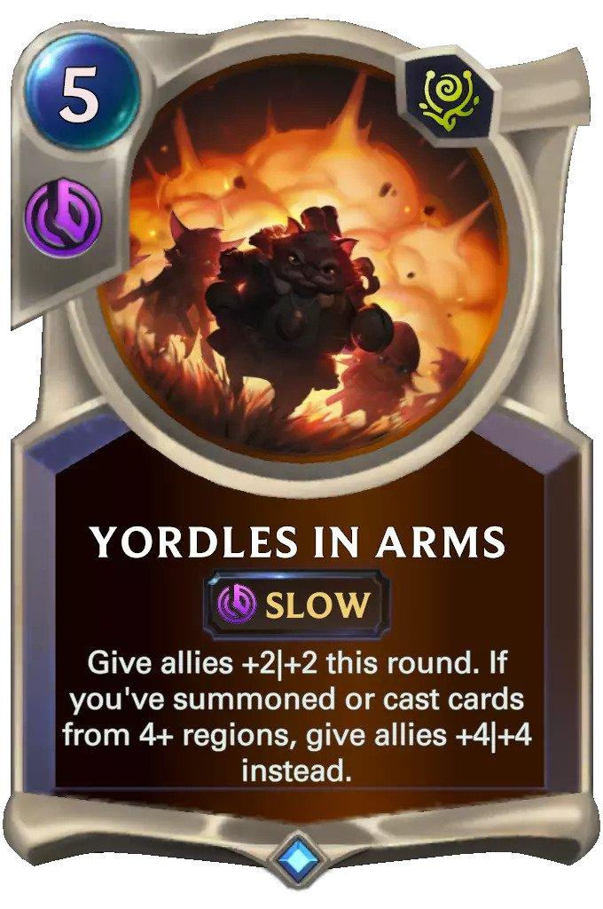 Yordles in Arms (lor card)