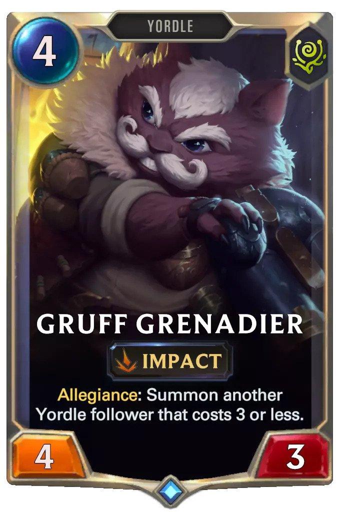 gruff grenadier (lor card)