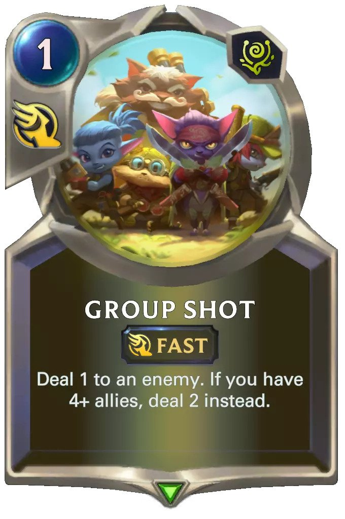 group shot (lor card)