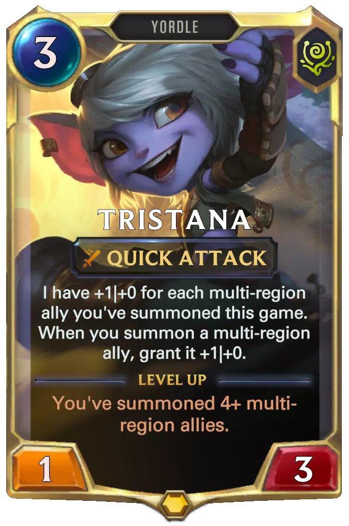 tristana level 1 (lor card)