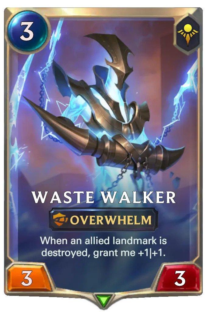 waste walker (lor card)