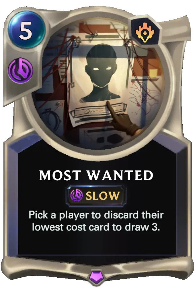 Most Wanted (LoR card)