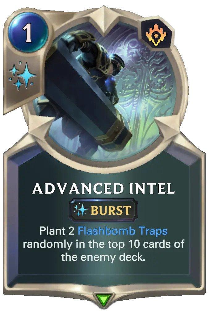 Advaned Intel (LoR card)