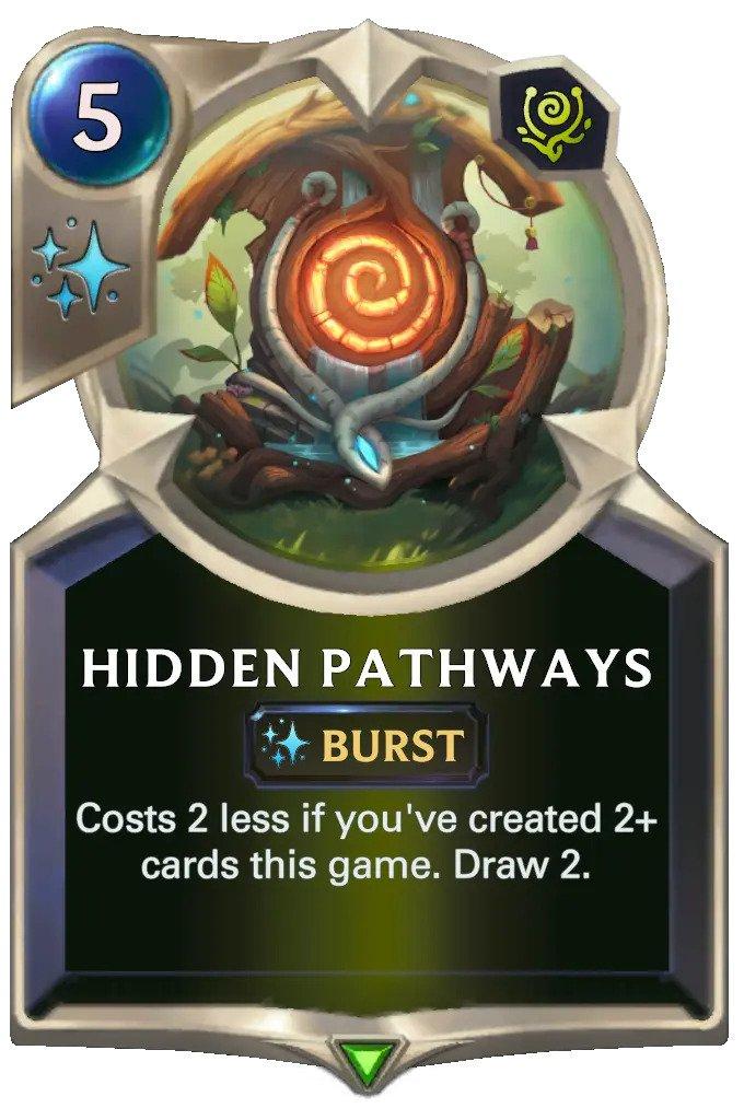 Hidden Pathways (LoR card)