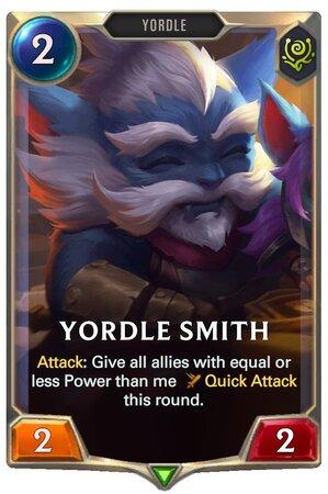 Yordle Smith (LoR Card)
