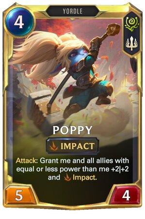 Poppy Level 2 (LoR Card)