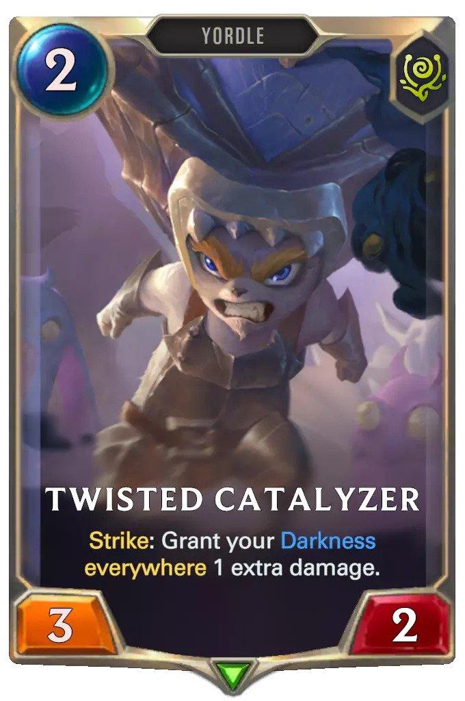 Twisted Catalyzer (LoR card)