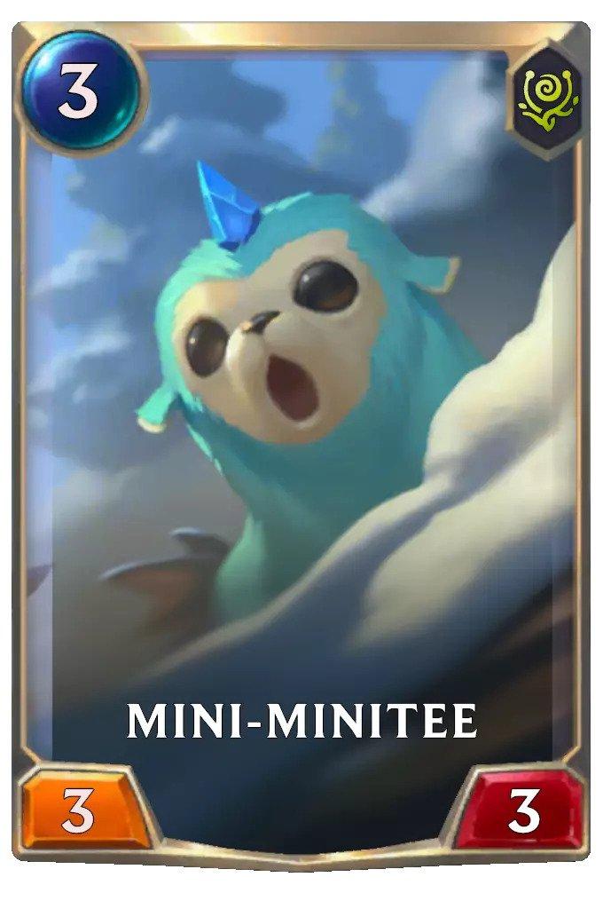 Mini-Minitee (LoR card)