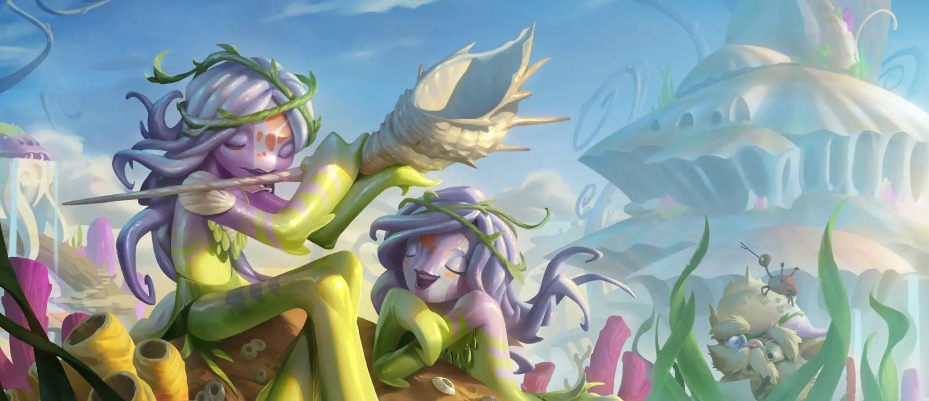Kelp Maidens (LoR splash)