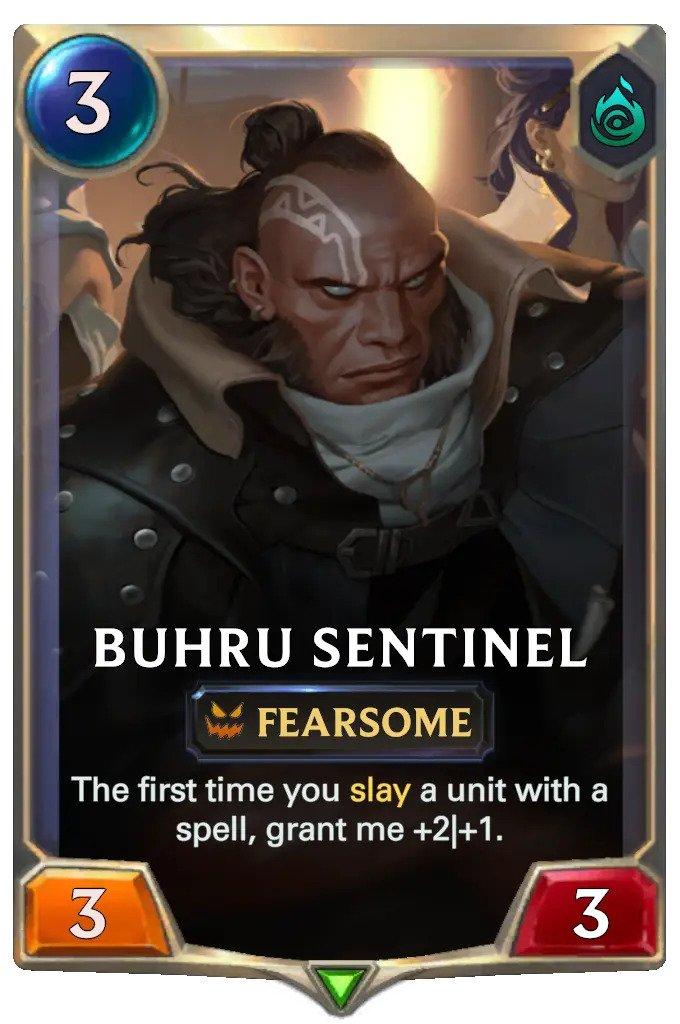Buhru Sentinel (LoR card)