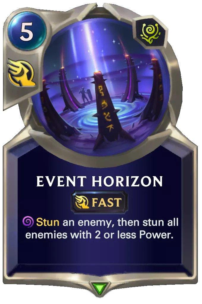 Event Horizon (LoR card)