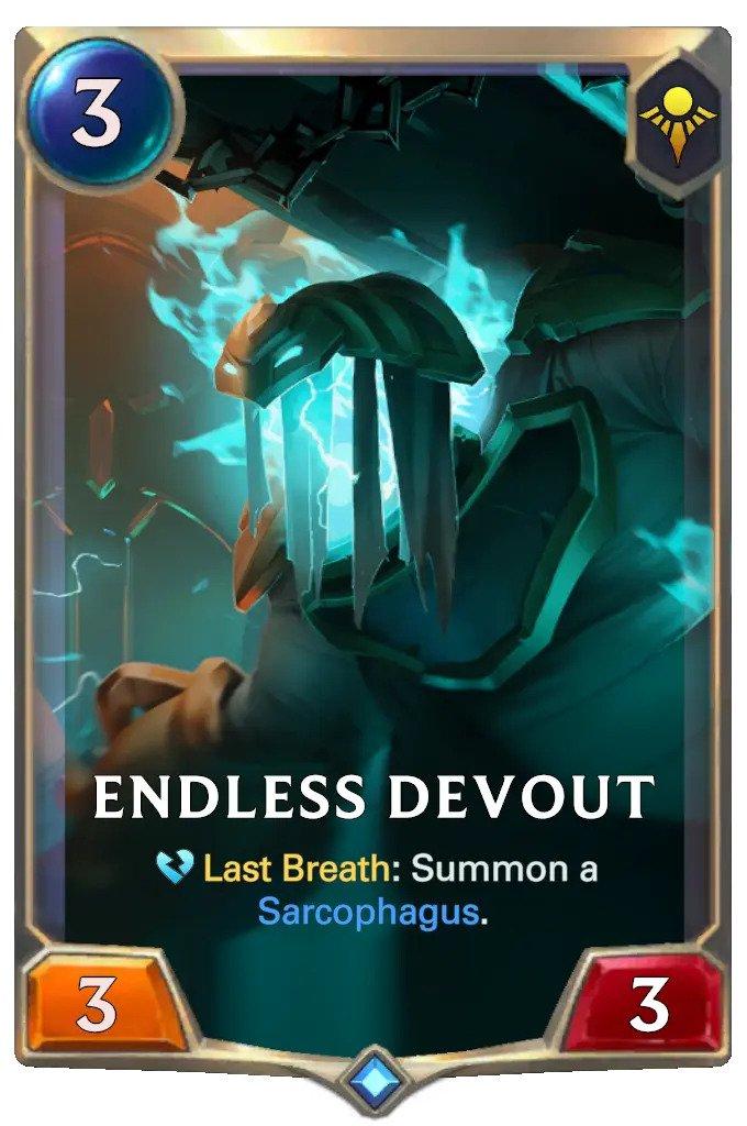 endless devout (lor card)