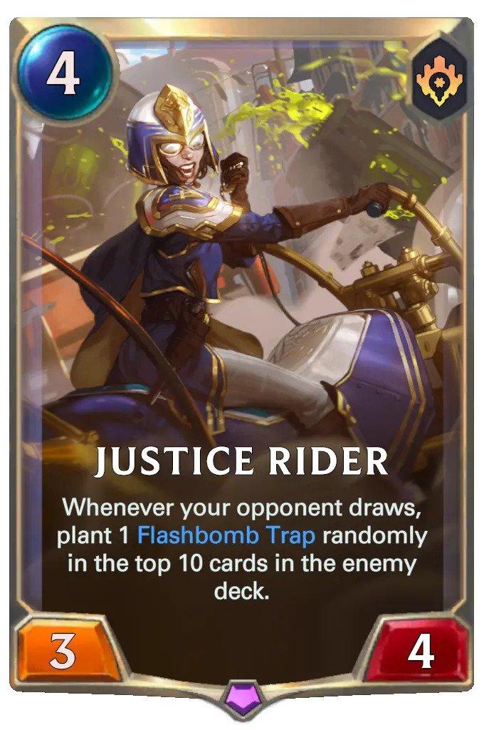 Justice Rider (LoR card)