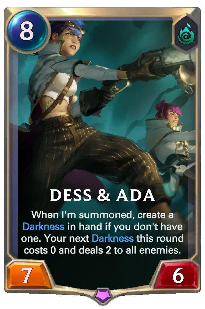 Dess & Ada (LoR card)