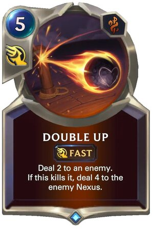 Double Up (LoR Card)