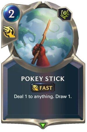 Pokey Stick (LoR Card)