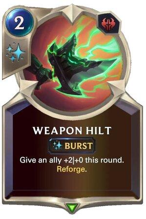 Weapon Hilt (LoR Card)