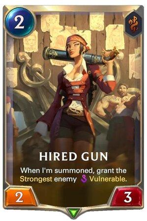 Hired Gun (LoR Card)